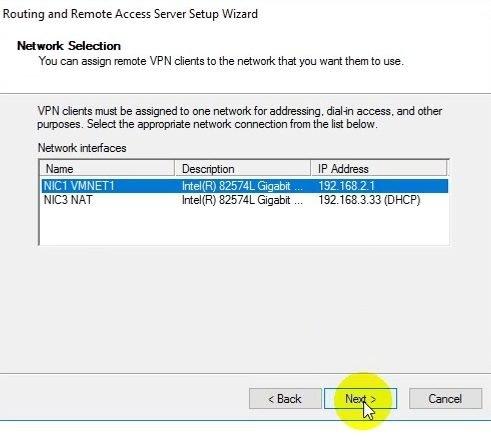 Tự học mcse 2016-Lab 16-Cấu hình VPN Server với Client to