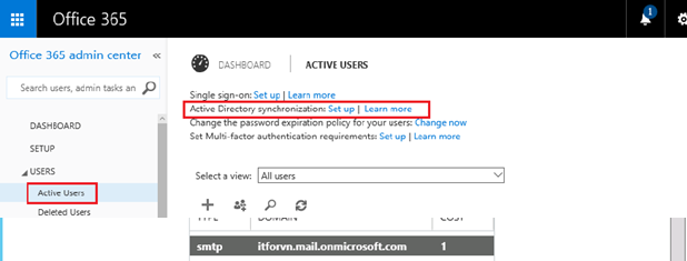 ITFORVN.COM aaaaa-100 Cấu hình Exchange Hybird và DirSync quản lý User AD bằng Azure