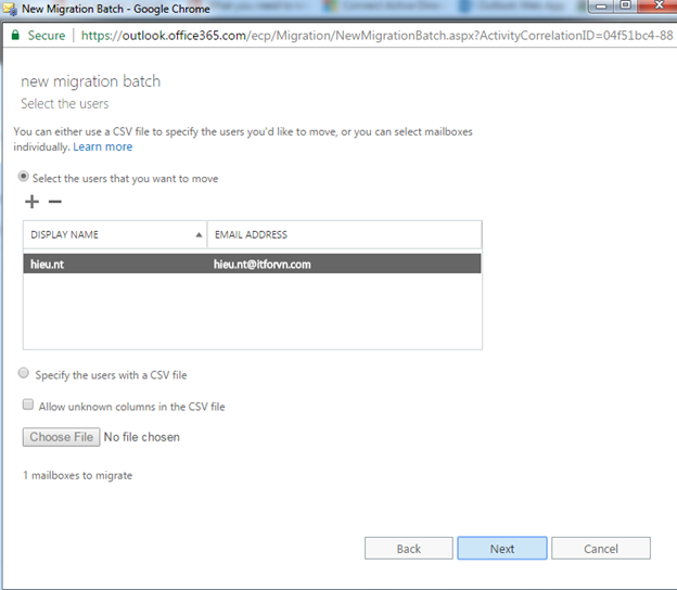 ITFORVN.COM aaaaa-112 Cấu hình Exchange Hybird và DirSync quản lý User AD bằng Azure