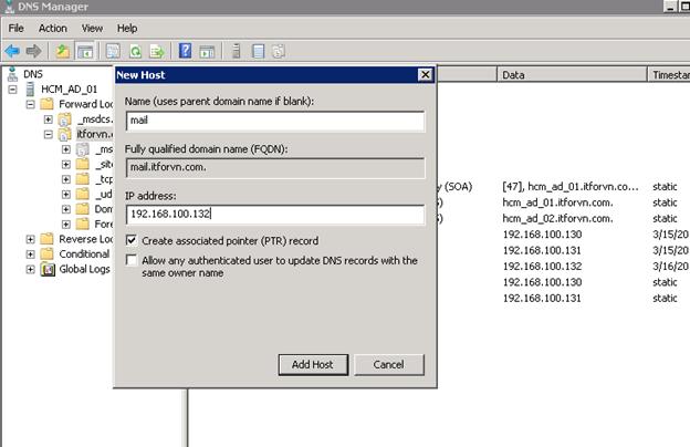 ITFORVN.COM aaaaa-2 Cấu hình Exchange Hybird và DirSync quản lý User AD bằng Azure