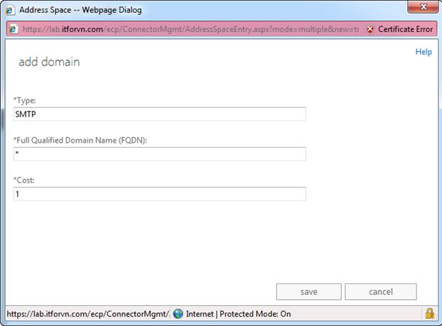 ITFORVN.COM aaaaa-25 Cấu hình Exchange Hybird và DirSync quản lý User AD bằng Azure