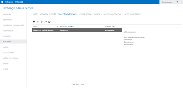 ITFORVN.COM aaaaa-39 Cấu hình Exchange Hybird và DirSync quản lý User AD bằng Azure