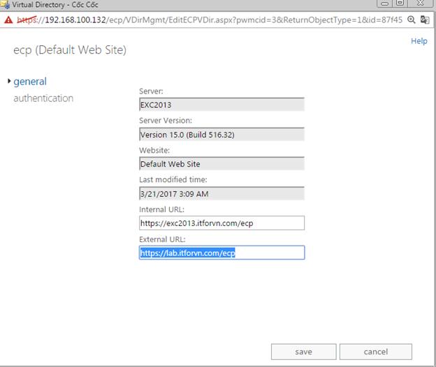 ITFORVN.COM aaaaa-53 Cấu hình Exchange Hybird và DirSync quản lý User AD bằng Azure