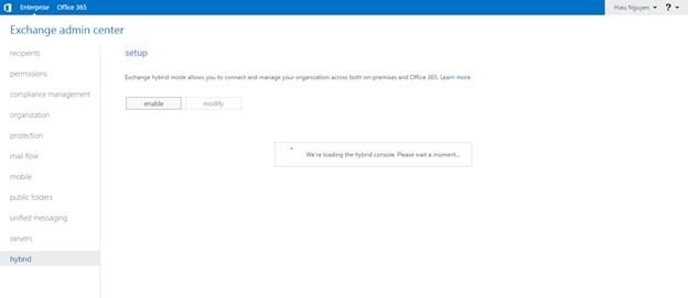 ITFORVN.COM aaaaa-61 Cấu hình Exchange Hybird và DirSync quản lý User AD bằng Azure