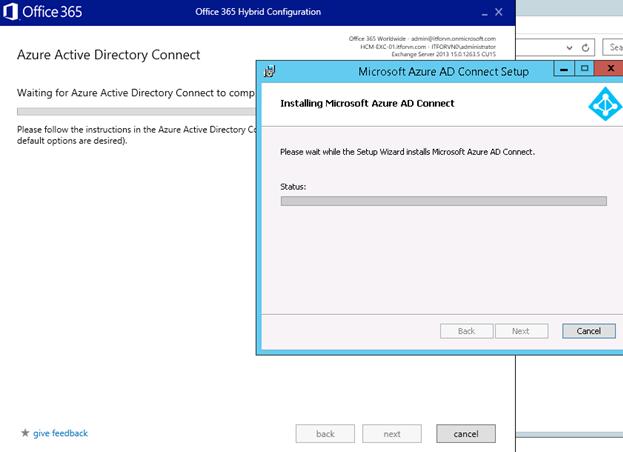 ITFORVN.COM aaaaa-70 Cấu hình Exchange Hybird và DirSync quản lý User AD bằng Azure