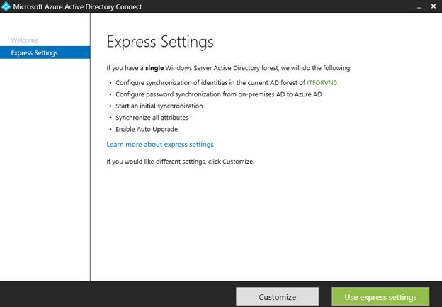 ITFORVN.COM aaaaa-72 Cấu hình Exchange Hybird và DirSync quản lý User AD bằng Azure