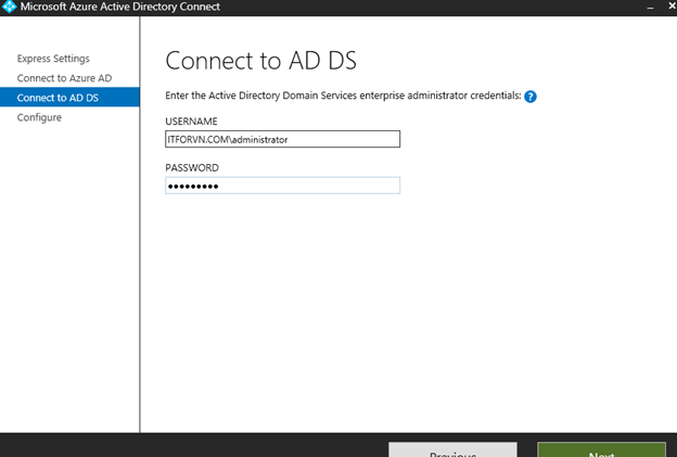 ITFORVN.COM aaaaa-74 Cấu hình Exchange Hybird và DirSync quản lý User AD bằng Azure