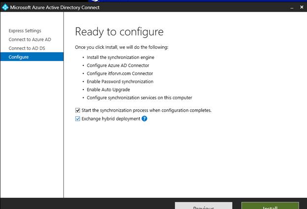 ITFORVN.COM aaaaa-75 Cấu hình Exchange Hybird và DirSync quản lý User AD bằng Azure