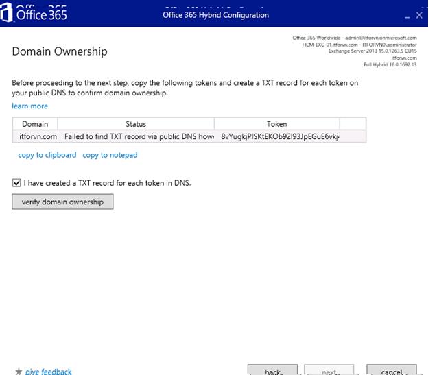ITFORVN.COM aaaaa-83 Cấu hình Exchange Hybird và DirSync quản lý User AD bằng Azure