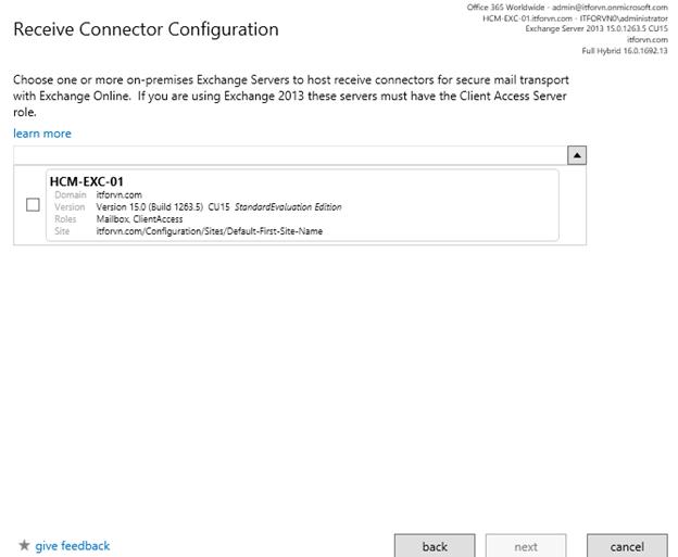 ITFORVN.COM aaaaa-87 Cấu hình Exchange Hybird và DirSync quản lý User AD bằng Azure