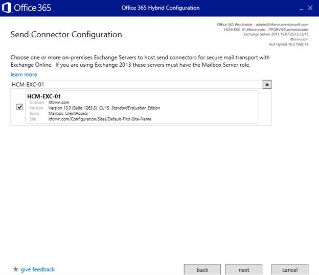 ITFORVN.COM aaaaa-88 Cấu hình Exchange Hybird và DirSync quản lý User AD bằng Azure