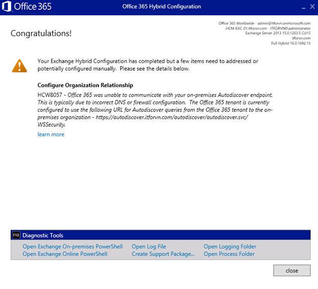 ITFORVN.COM aaaaa-93 Cấu hình Exchange Hybird và DirSync quản lý User AD bằng Azure