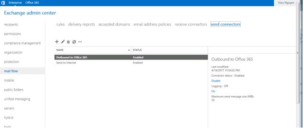 ITFORVN.COM aaaaa-98 Cấu hình Exchange Hybird và DirSync quản lý User AD bằng Azure