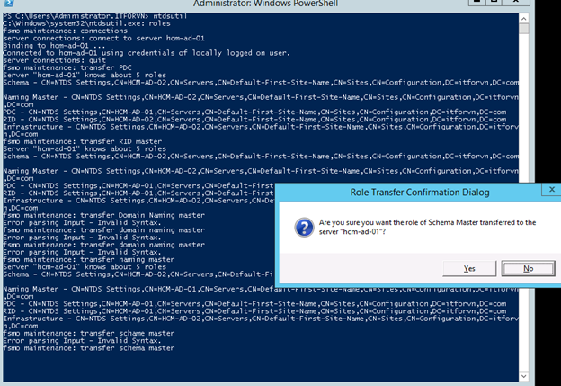 1 16 - Khôi phục Active Directory trong Windows 2012