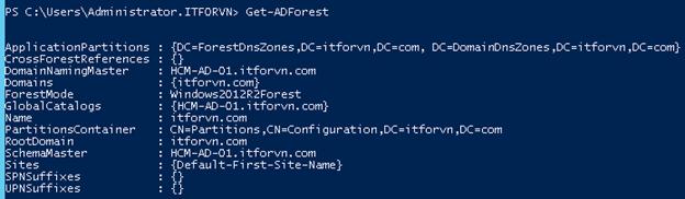 1 3 - Khôi phục Active Directory trong Windows 2012