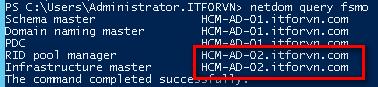 1 6 - Khôi phục Active Directory trong Windows 2012