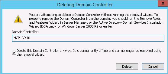 1 9 - Khôi phục Active Directory trong Windows 2012