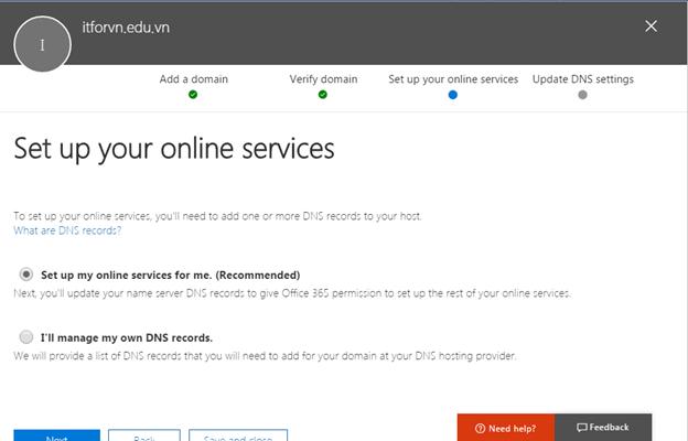 a 13 - Cấu hình office 365 từ [A - Z] - part 1 - đăng ký thử nghiệm gói E3 và Tùy biến domain trong Office 365