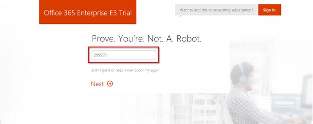 a 4 - Cấu hình office 365 từ [A - Z] - part 1 - đăng ký thử nghiệm gói E3 và Tùy biến domain trong Office 365