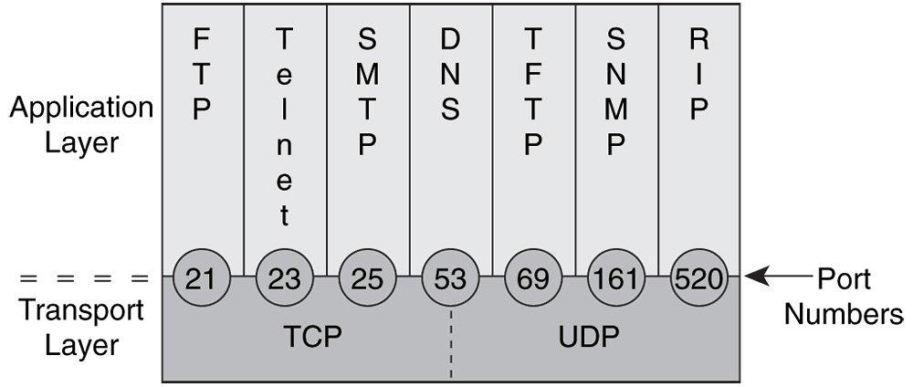 Các ứng dụng đặc trưng chạy trên Lớp Transport TCP/IP