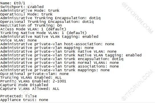 ITFORVN.COM New0131image5 Tự Học CCNA Lab 3: Cấu hình VLAN, Trunking, VTP Tự Học ccna ccna