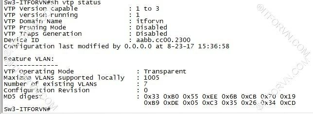 ITFORVN.COM New0134image8 Tự Học CCNA Lab 3: Cấu hình VLAN, Trunking, VTP Tự Học ccna ccna