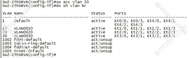 ITFORVN.COM New0142image21 Tự Học CCNA Lab 3: Cấu hình VLAN, Trunking, VTP Tự Học ccna ccna