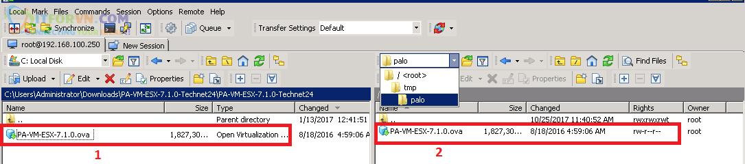Upload Firmware PaloAlto Eve1 - Up Firmware Palo Alto Trên EVE