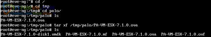 Upload Firmware PaloAlto Eve2 - Up Firmware Palo Alto Trên EVE