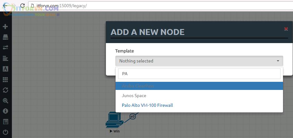 Upload Firmware PaloAlto Eve4 - Up Firmware Palo Alto Trên EVE
