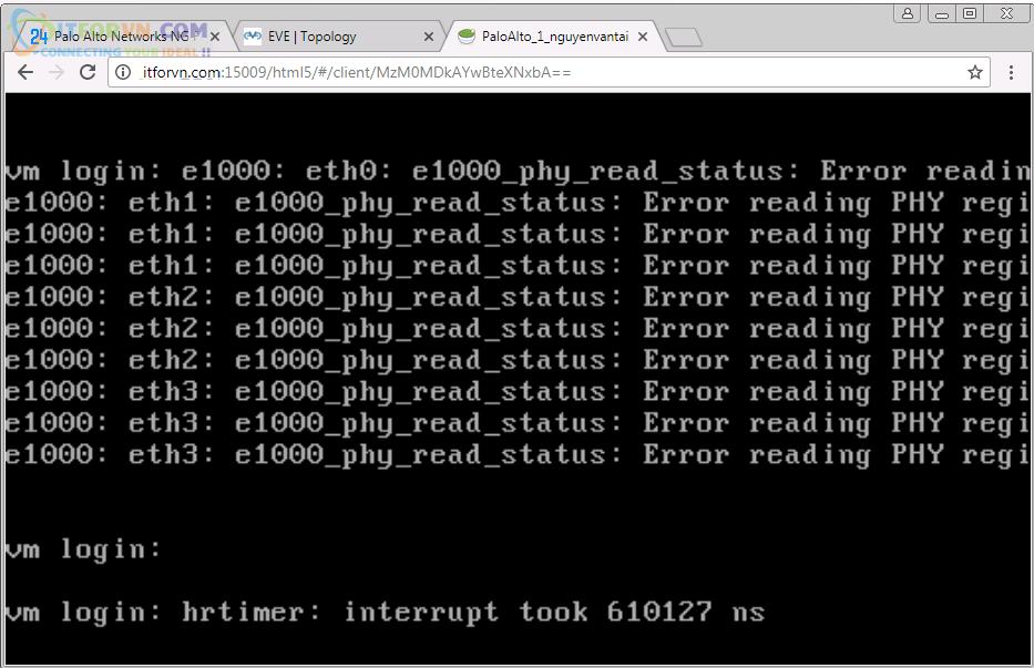 Upload Firmware PaloAlto Eve7 - Up Firmware Palo Alto Trên EVE