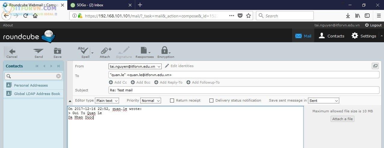 ITFORVN.COM Cau-Hinh-iRedMail-Server-25 Cấu hình iRedMail server toàn tập - Phần 2