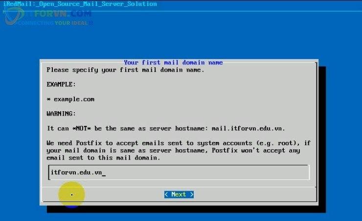 ITFORVN.COM Cau-Hinh-iRedMail-Server-8 Cấu hình iRedMail server toàn tập - Phần 2