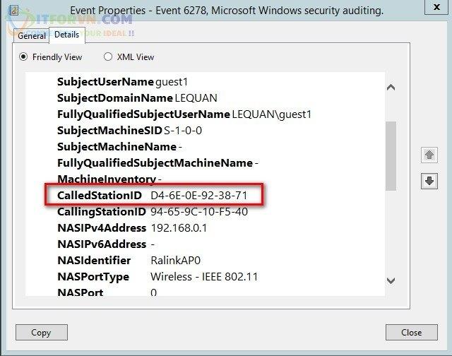 ITFORVN.COM Thong-so-Called-Station-ID-của-MultiSSID Tính năng MultiSSID trên RADIUS Server