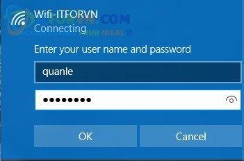 ITFORVN.COM Truy-cap-Wifi-dot1x Tính năng MultiSSID trên RADIUS Server