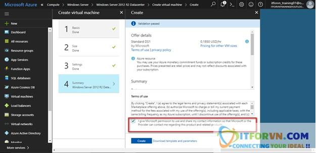 Untitled 18 - Microsoft Azure Toàn Tập - Lab 1: Tạo máy ảo trong Azure với Azure Resource Manager