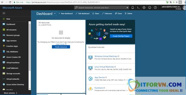 Untitled 3 - Microsoft Azure Toàn Tập - Lab 1: Tạo máy ảo trong Azure với Azure Resource Manager