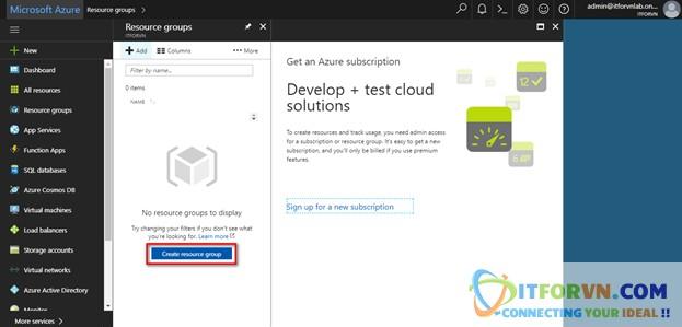 Untitled 5 - Microsoft Azure Toàn Tập - Lab 1: Tạo máy ảo trong Azure với Azure Resource Manager