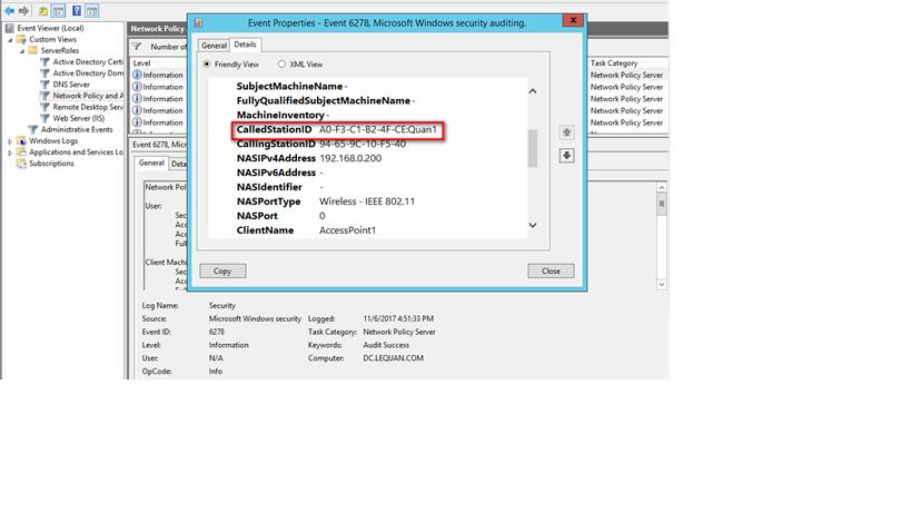 ITFORVN.COM sup Tính năng MultiSSID trên RADIUS Server