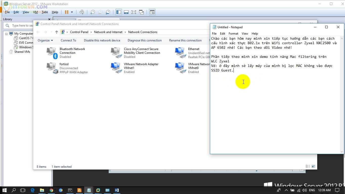 ITFORVN.COM H1-Tính-Năng-MAC-Filtering Cấu hình Wireless Controller Zyxel  Phần 2