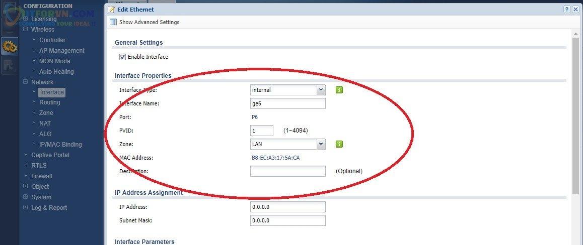ITFORVN.COM H12-Cấu-hình-VLAN-0-ra-internet Cấu hình Wireless Controller Zyxel  Phần 2