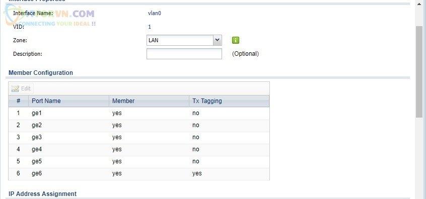 ITFORVN.COM H13-Cấu-hình-IP-tĩnh-cho-VLAN-0 Cấu hình Wireless Controller Zyxel  Phần 2
