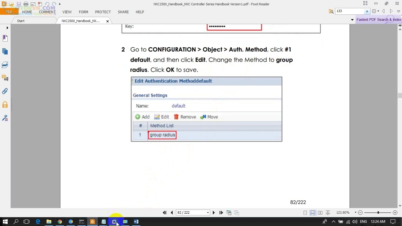 ITFORVN.COM H2.-Edit-Authentication-Method Cấu hình Wireless Controller Zyxel  Phần 3