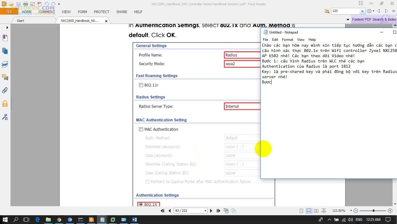 ITFORVN.COM H3.-Cấu-hình-Secirity-list Cấu hình Wireless Controller Zyxel  Phần 3