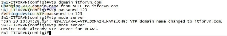 ITFORVN.COM H5.-Cấu-hình-VTP-SW1 Tự Học CCNA-Lab 5 Cấu hình STP