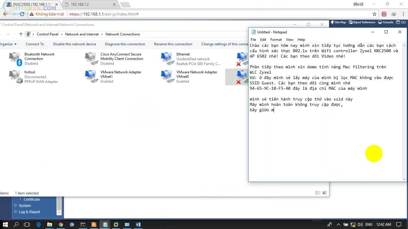 ITFORVN.COM H6-MAC-đã-bị-filter Cấu hình Wireless Controller Zyxel  Phần 2