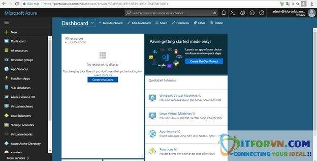a12 - Microsoft Azure Toàn Tập - Lab 2: Kết nối máy ảo trong Azure với Azure Resource Manager