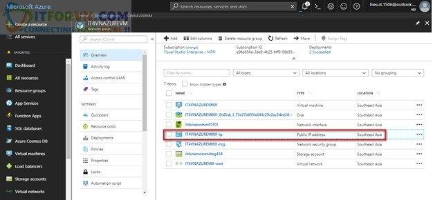 ITFORVN.COM Untitled6 Microsoft Azure Toàn Tập – Lab 3: Cấu Hình Azure Network Security Group – Azure Resource Manager NSG network security group cấu hình azure network azure virtual network azure network security group azure network security
