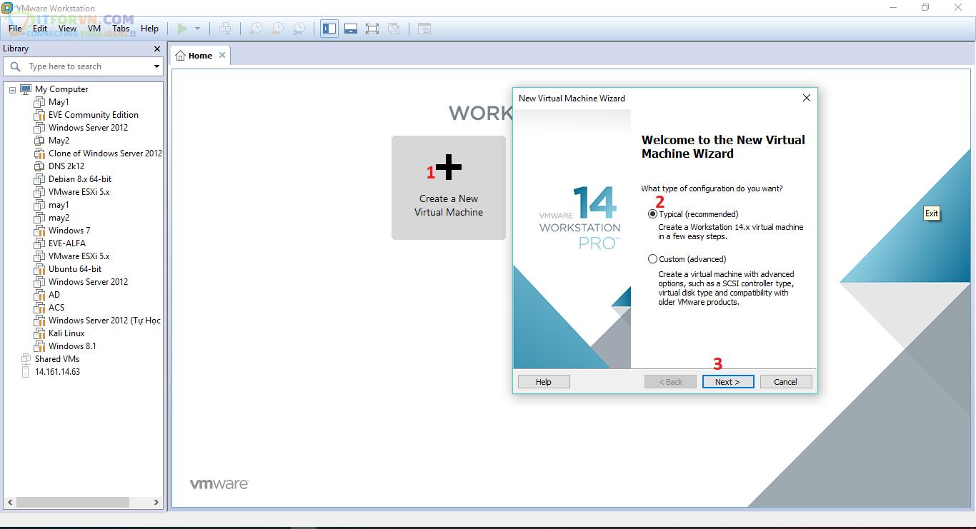 H1.Cài đặt và crack ACS 5.8 trên WorkStation</span>