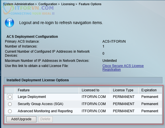 H38. Activate Feature License